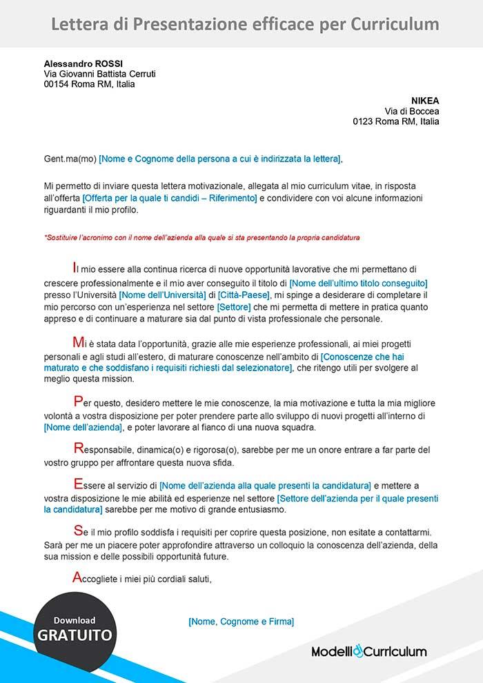 lettera-di-presentazione-curriculum-originale