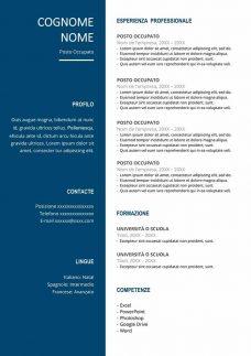 esempi-curriculum-gratis